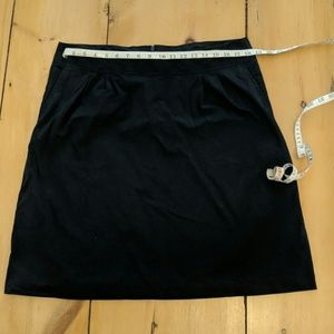 Lands End Cotton A-line Skirt 12